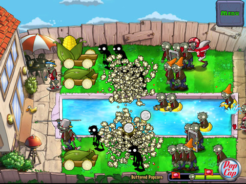plants vs zombies HD 3 300x225 Plants vs Zombies HD Delivers Addictive