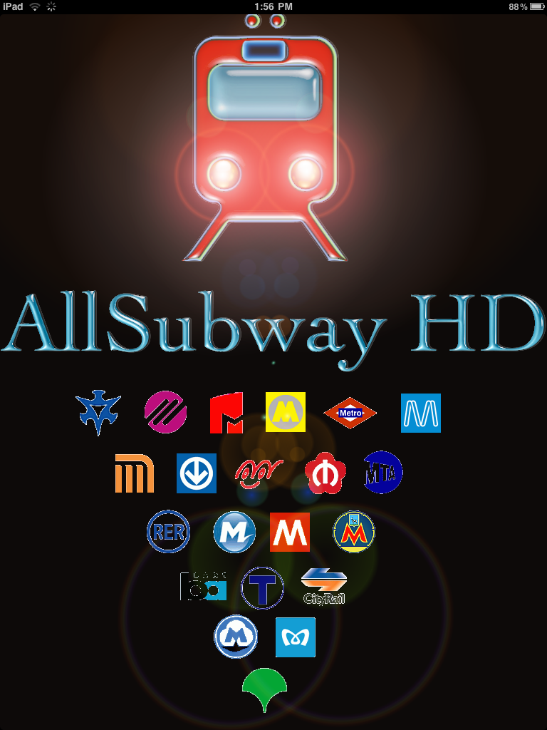 AllSubway HD Portrait AllSubway HD Maps Subways Around the World