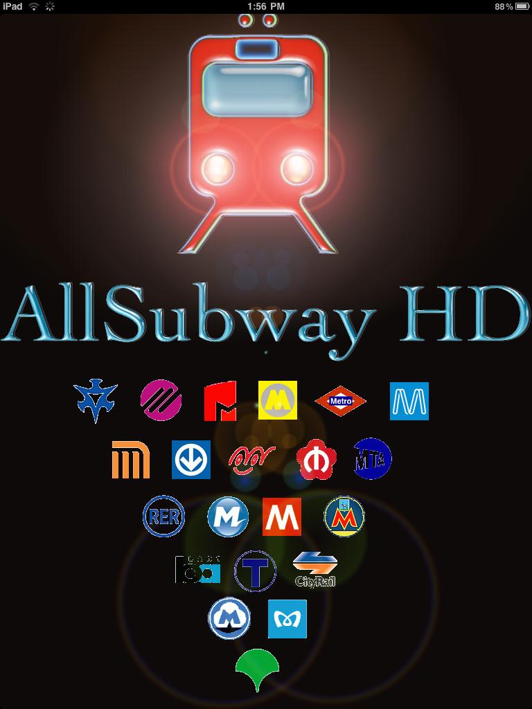 AllSubway HD Portrait AllSubway HD Maps Subways Around the World