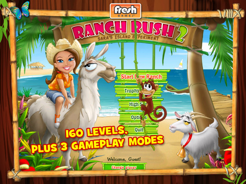 ranchrush2 31 Go Bananas with Ranch Rush 2