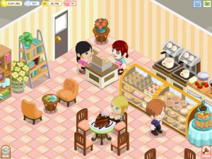 bakery story 1 300x225 Design and Run Your Own Coffee Shop in Bakery Story