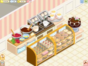 bakery story 2 300x225 Design and Run Your Own Coffee Shop in Bakery Story