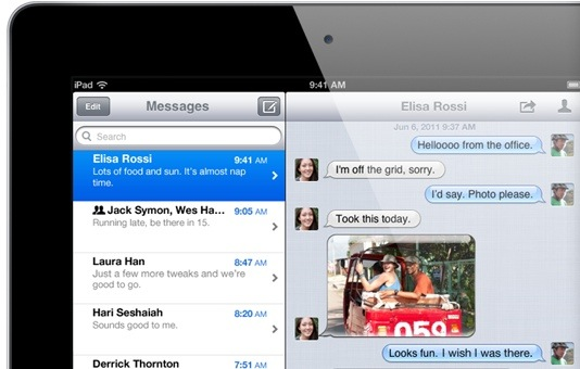 iOS5-imessage