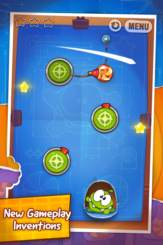 Cut the Rope 2 Cut the Rope: Experiments Dazzles Like the Original