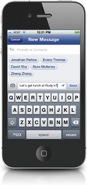 facebook messenger New Standalone Facebook Messenger App Released for iOS