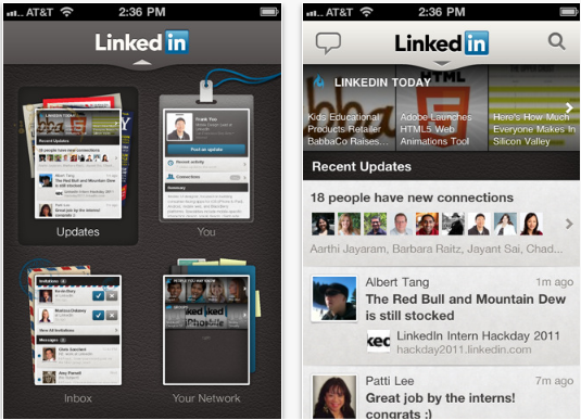 Revamped 'LinkedIn' App Hits the iOS Store