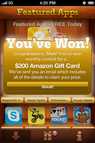 FreeAppWin 1 FreeAppWin Proves Some Things Really Are Free...Kind Of