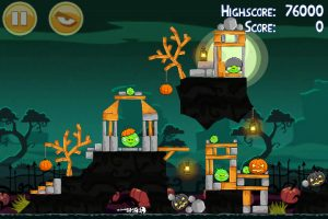 angry seasons 11 300x200 Angry Birds Seasons Updated for Halloween   30 All New Levels