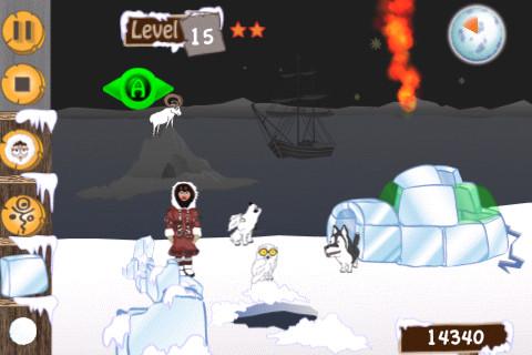 iPhone Game Review: FlamingIgloo