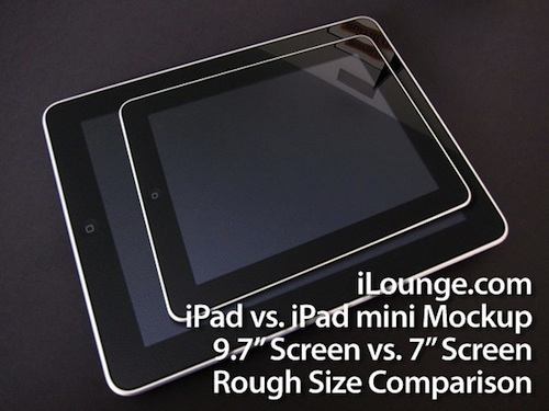 ipad mini Apple Developing iPad Mini To Counter Kindle Fire?