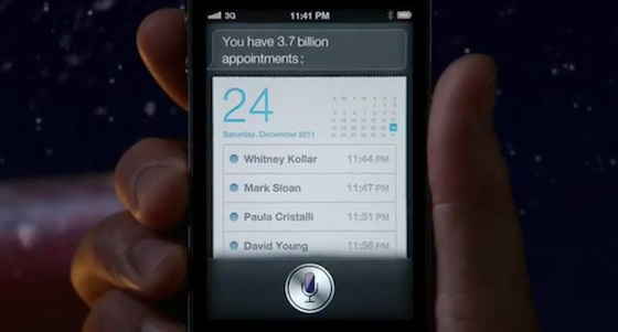 New iPhone 4S TV Commercial Features Santa Using Siri