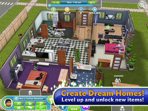 free sims 3 game download for ipod touch