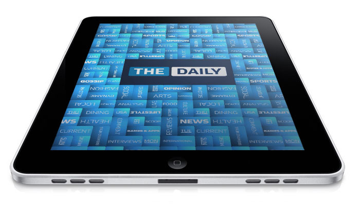 ipad the daily iPad Newspaper The Daily Racks up 100,000 Subscribers in a Year, Still Not Profitable