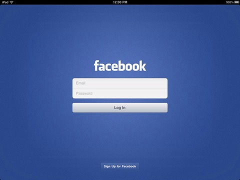 Facebook App Updated for New iPad, Still No Timeline Support