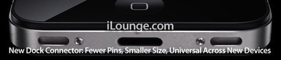iphone 5 mini dock iPhone 5 to Feature Mini Dock Connector, No Change in Screen Size?