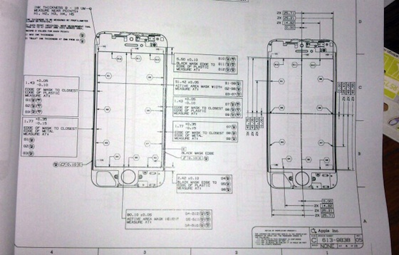The iPhone 5 - Design Schematic