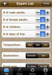 Plan Your Next Trip With Packing Pro for iPhone