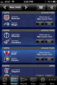 nba game time 2 200x300 Best iPhone Apps For The NBA Finals