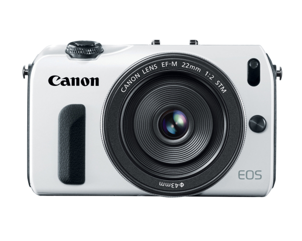 Canon EOS M in White
