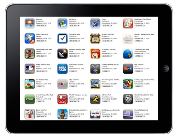 how to change app store on ipad