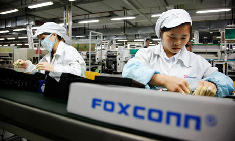 iPhone 5 Foxconn Employees