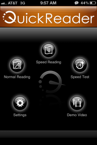 Quickreader SS1 200x300 Quickreader   the Ultimate iPhone and iPad Reading App