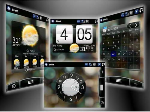 iPhone 5 HTC Sense UI