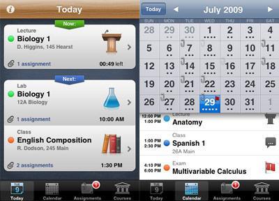 college ipad apps