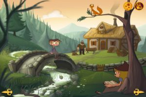 Hansel and Gretel - Epic Tales Animated iPad Storybook Review