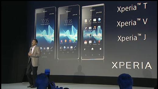 xperia smartphones