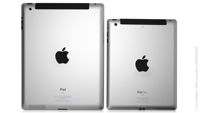 iPad Mini next to the iPad