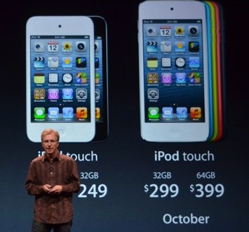 2012 iPod touch: Real Star of the Show with Siri, 5MP Camera, Colors