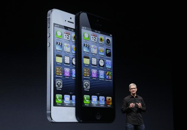 Tim Cook Introducing iPhone 5 at the Apple Keynote