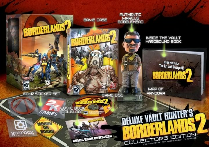 Borderlands 2 Deluxe Edition Borderlands 2 May Get PS Vita Port, Bigger Campaign DLCs, New Characters