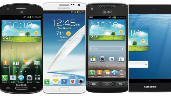 Samsung Galaxy Note 2, Three Other Samsung Devices Heading To AT&T