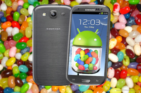 Galaxy SIII Android 4.1 Jelly Bean