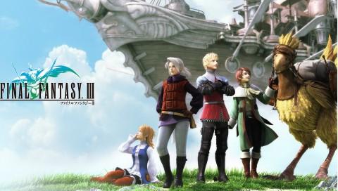 PS Vita To Get Final Fantasy III