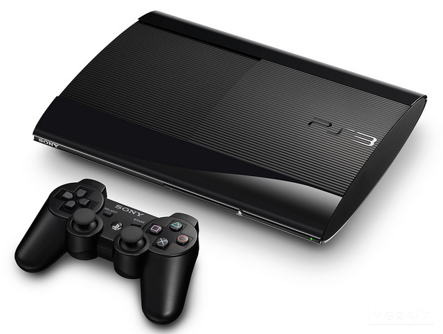 Playstation 4 predecessor Playstation 3 Super Slim