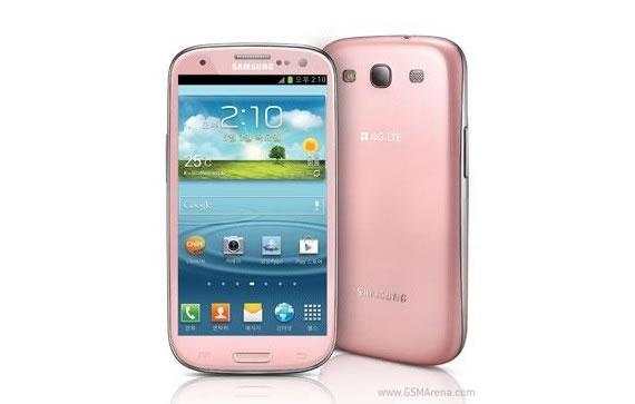 Samsung Galaxy SIII Pink Variant