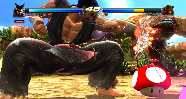 Tekken Tag Tournament 2: Wii U Edition To Get Touch Screen Controls, 'Mushroom Battle' Mode