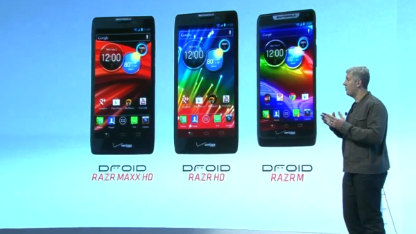droid razr hd family