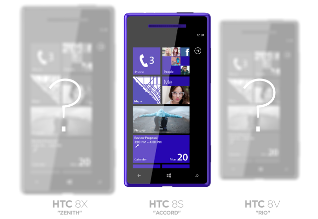 iPhone 5 competitor HTC Windows Phone 8