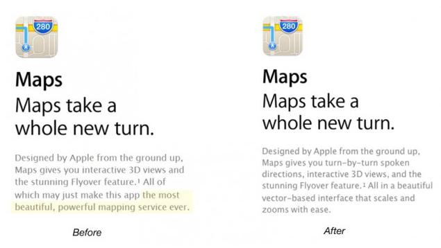 iPhone 5 iOS 6 Maps
