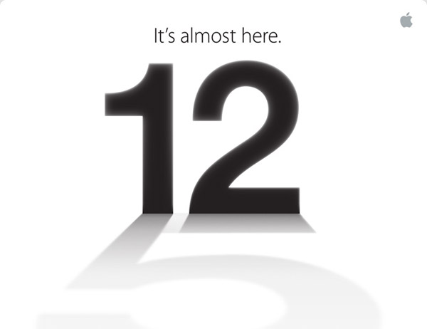 "iPhone 5 invitation ""It's almost here"""