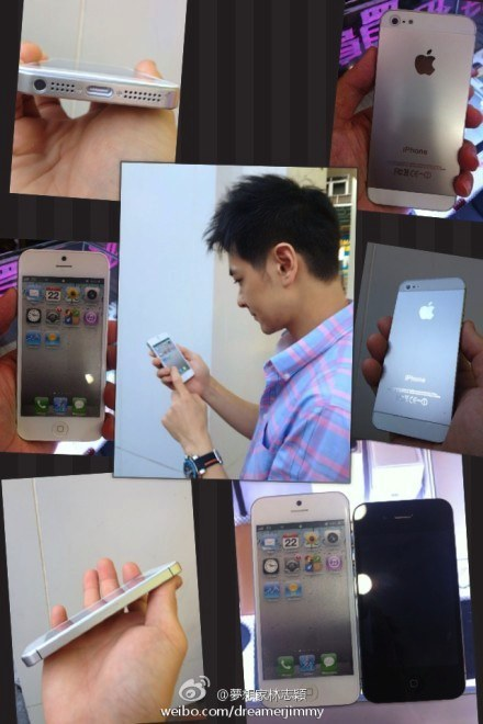 iPhone 5 Photos: Chinese Pop Star Delivers Hype