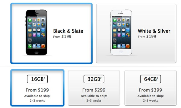 Order resume online iphone 5