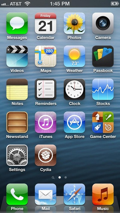 iPhone 5 Launched Today, Already Jailbroken?