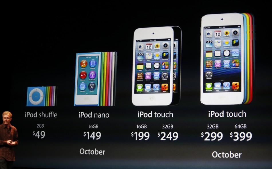 ... New iPod Touch, iPod Nano - Tapscape