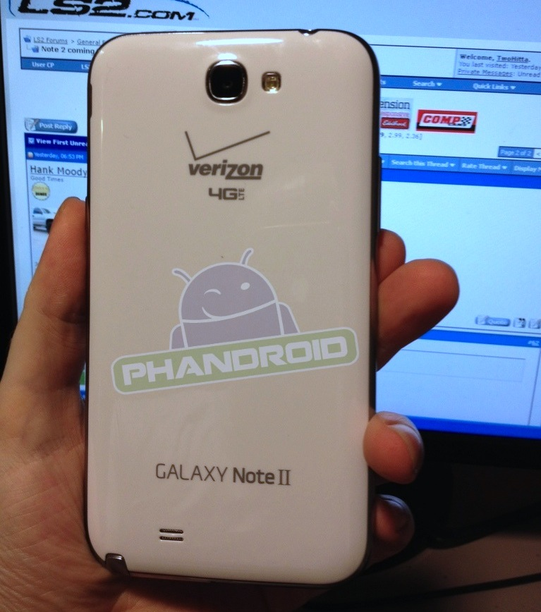 verizon galaxy note 2