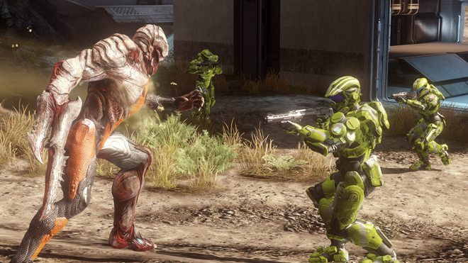 Halo 4 The Flood 2 Halo 4 Goes Gold, The Flood Details Emerge